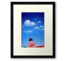 Spirited Sky Framed Print