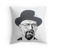 Walter White Breaking Bad Throw Pillow