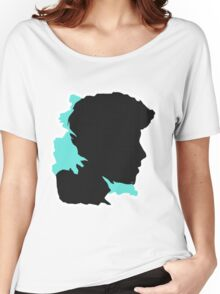 Shawn Silhouette // Nov Women's Relaxed Fit T-Shirt