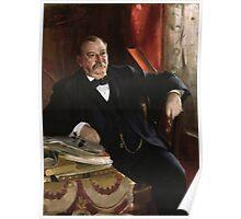 U.S. President Grover Cleveland Portrait Poster