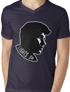 Shawn Sillhoutte // Nov #2 Mens V-Neck T-Shirt
