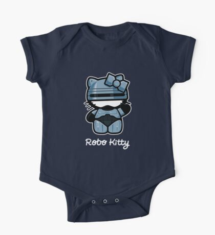 Robo Kitty One Piece - Short Sleeve