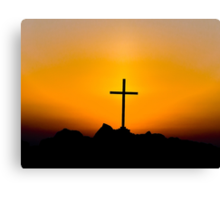 The Christian Cross Canvas Print