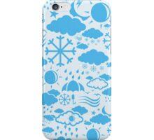 Background weather iPhone Case/Skin