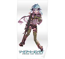 Anime: Sword Art Online II - Sinon Poster