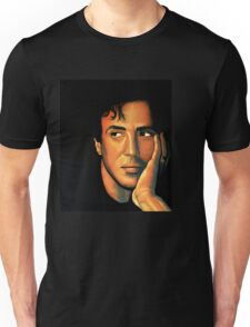 Sylvester Stallone Painting Unisex T-Shirt