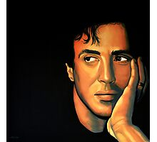 Sylvester Stallone Painting Photographic Print
