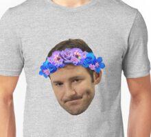Flower Crown Tony Romo Unisex T-Shirt
