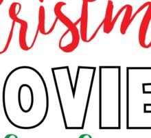 Christmas Movies & Baking Sticker