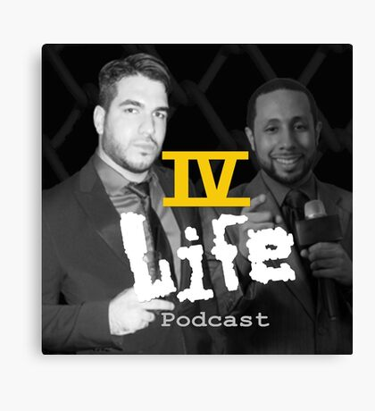 IV Life Podcast Canvas Print