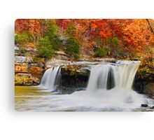 Colorful Cataract Falls Canvas Print