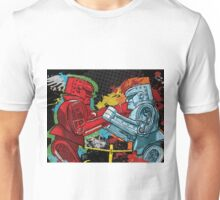 Clash of the Robot Titans Unisex T-Shirt