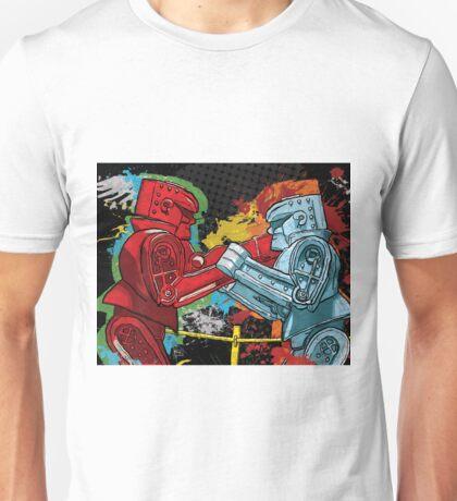 Clash of the Robot Titans Unisex T-Shirt