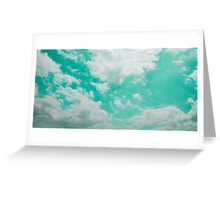 Voices in the Clouds 2 Greeting Card