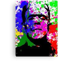 Frankie Splatter Canvas Print