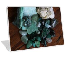 Crystals: The Green Collection Laptop Skin