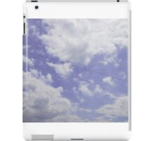 Voices in the Clouds 4 iPad Case/Skin