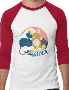 Surfs Up Men's Baseball ¾ T-Shirt