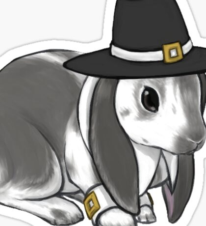Pilgrim Lop Rabbit Sticker