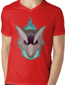 Ghost and Fire Mens V-Neck T-Shirt