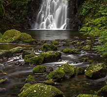 Glenoe Waterfall by Darren Brown