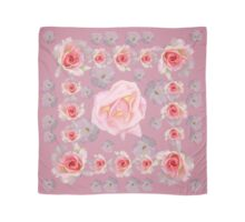 24 pink roses Scarf