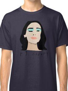 PJ Harvey Portrait Classic T-Shirt