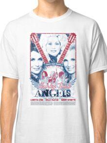 Honky Tonk Angels. Tammy Wynette, Dolly Parton, Loretta Lynn. Nashville, TN. Country Music Classic T-Shirt