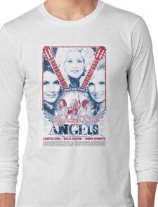Honky Tonk Angels. Tammy Wynette, Dolly Parton, Loretta Lynn. Nashville, TN. Country Music Long Sleeve T-Shirt