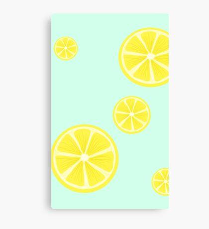 Cute lemon Canvas Print