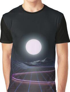 Neon Moonset Graphic T-Shirt