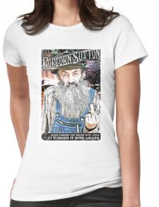 Moonshine Popcorn Sutton  Womens Fitted T-Shirt