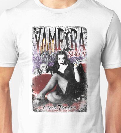 The Vampira Show.  Unisex T-Shirt