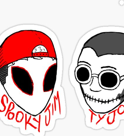 Spooky & Tyjo Sticker