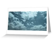 Voices in the Clouds 9 Greeting Card