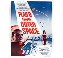 Vintage poster - Plan 9 from Outer Space Poster