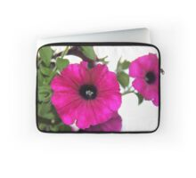 Hot Pink Petunias Laptop Sleeve