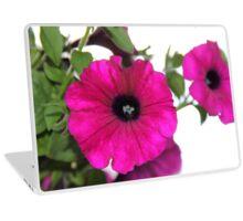 Hot Pink Petunias Laptop Skin