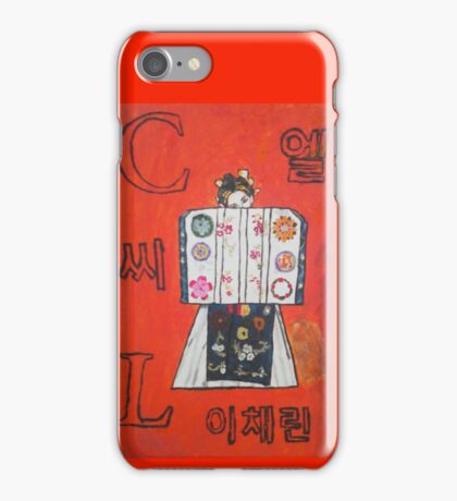 CL name iPhone Case/Skin