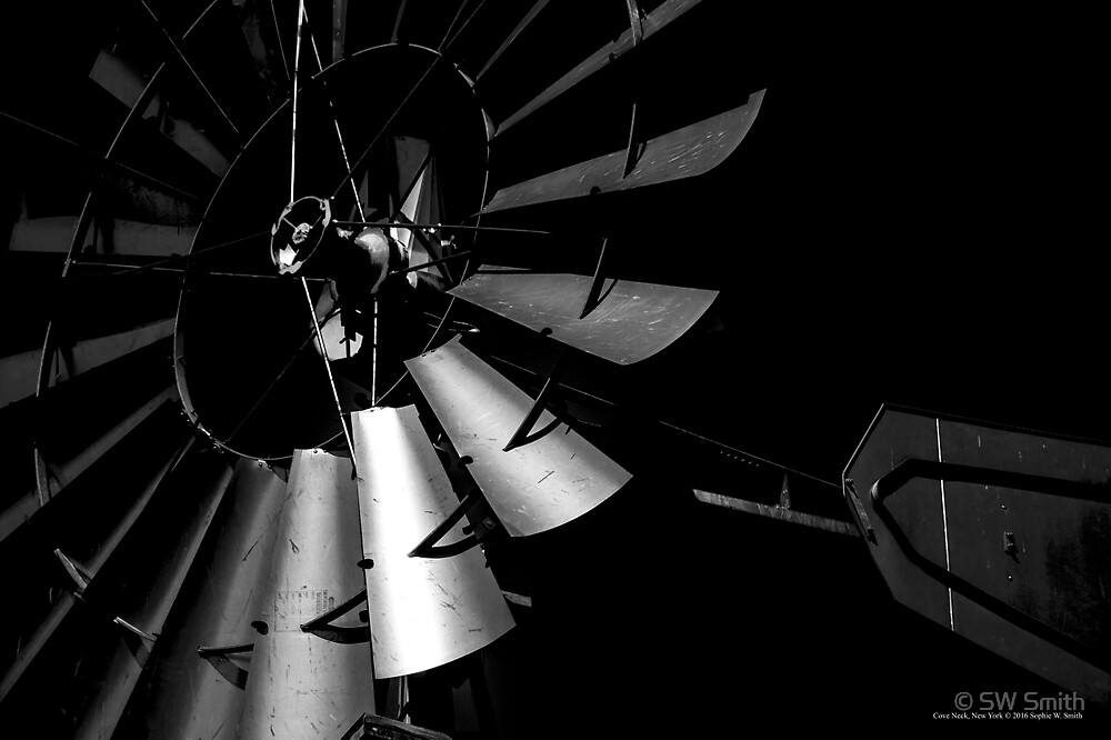 Aermotor Windmill - Sagamore Hill | Cove Neck, New York by © Sophie W. Smith