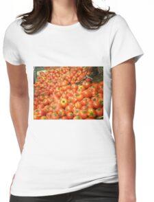 Mmmm Mmmmm Tomatoes Womens Fitted T-Shirt