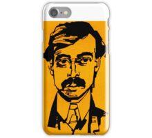 Moustachio Business Man  iPhone Case/Skin