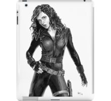 Black Widow - Avengers - Pencil Drawing iPad Case/Skin