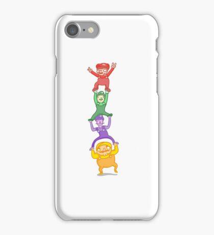 Mario, Luigi, Waluigi, and Wario iPhone Case/Skin