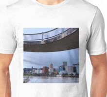Downtown Portland on the Willamette Unisex T-Shirt