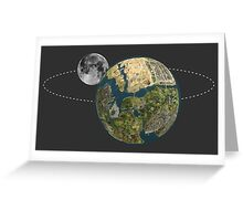 Grand Theft Auto San Andreas Solar System  Greeting Card