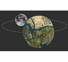 Grand Theft Auto San Andreas Solar System  Photographic Print