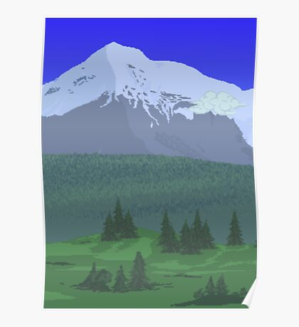 Terraria - Landscape Poster