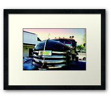 Ol' GMC Framed Print