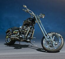 Custom Motorcycle 'Road Dawg' by DaveKoontz